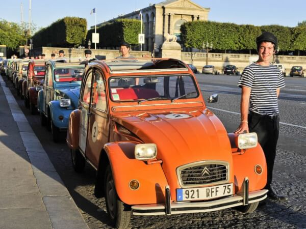 2CV Secret Paris Tour