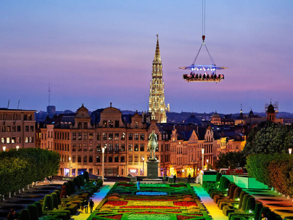 Dinner in the Sky, Brussels