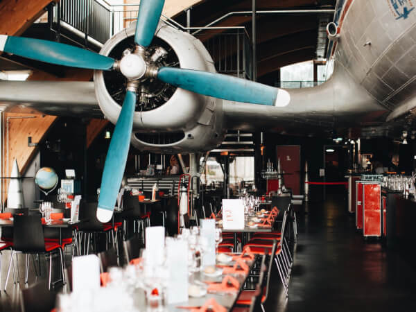 Runway 34: Airplane-Themed Restaurant