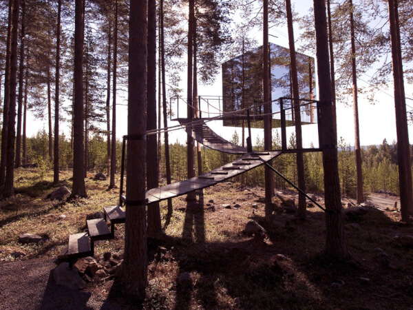 The Mirrorcube - Treehotel